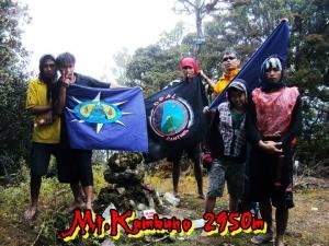 Mt.Kambuno 2950, Garis Indonesia