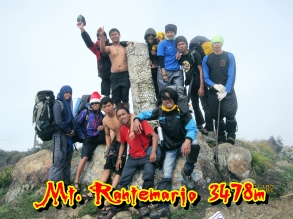 Mt.Rantemario 3478m