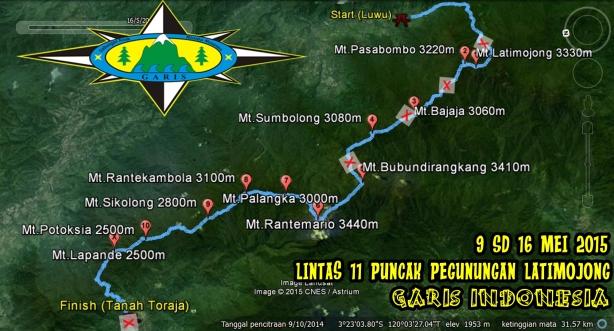Jalur-Gps-Lintas-11-Puncak-Pegunungan-Latimojong